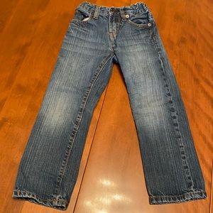 Gap boys size 5 slim straight jeans